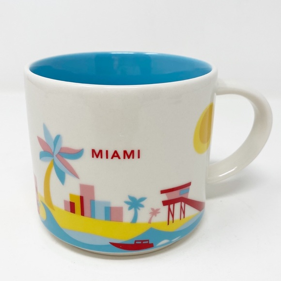STARBUCKS You Are Here Collection ~ Miami